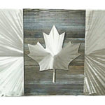 Image of Silver Canada Flag
