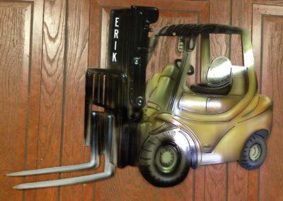 Airbrushed Forklift for Erik