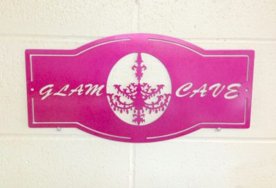 Image of Glam Cave Sign - Pink