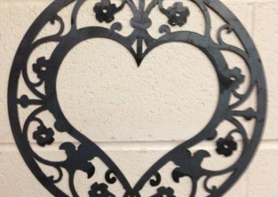 Image of Heart in Scrolls