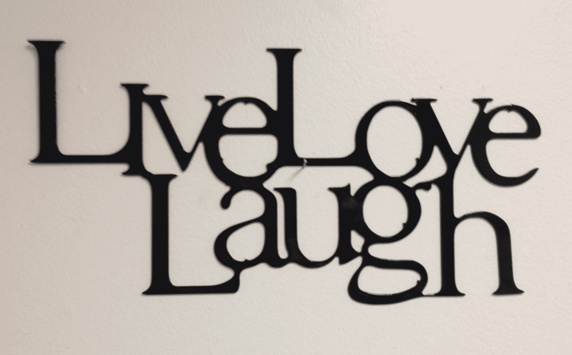 Image of Live, Laugh, Love Sign