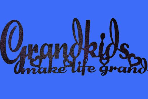 Image of Grandkids Make Life Grand Wall Art